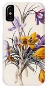 Crocuses IPhone X Case