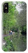 Cromford Canal - Tree Lined Walk IPhone Case