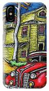 Crooked House IPhone Case