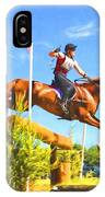 Crop In Hand IPhone Case