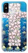 Cross Of Flowers IPhone Case