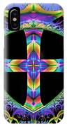 Cross Of One Way To God IPhone Case