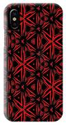 Crossing The Line Abstract  IPhone Case