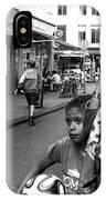 Crossing The Street Mono IPhone Case
