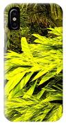 Croton Cascading Down The Hillside IPhone Case