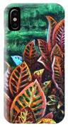 Crotons 4 IPhone Case