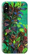 Crotons 7 IPhone Case