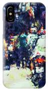 Crowded Street IPhone Case