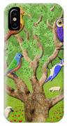 Crowded Tree IPhone Case