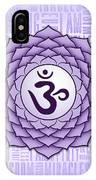 Crown Chakra - Awareness IPhone X Case