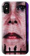 Crown Fountain Silhouettes IPhone Case