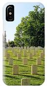 Crown Hill National Cemetery, Indianapolis, Indiana IPhone Case