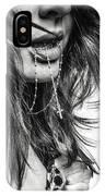 Crucifix And Teeth #2 IPhone Case