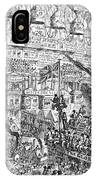 Cruikshank: London, 1851 IPhone Case