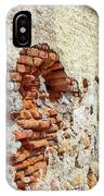 Crumbling Wall IPhone Case
