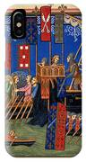 Crusades 14th Century IPhone Case