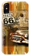 Crusin N Dining On Rt 66 IPhone Case