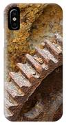 Crusty Rusty Gears IPhone Case
