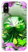 Crystal Ball Flower Garden IPhone Case
