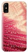 Crystal Of Ammonium Chloride IPhone Case by Beauty of Science