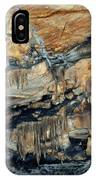 Crystal Cave Marble Sequoia Portrait IPhone Case
