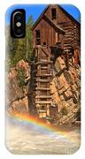 Crystal Mill Rainbow IPhone Case