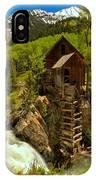 Crystal Mill Summer Landscape IPhone Case