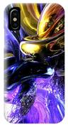Crystalized Ecstasy Abstract  IPhone Case
