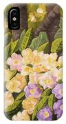 Crystal's Primroses IPhone Case
