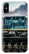 Cs X  Ge Engine 3046 On Trestle IPhone Case