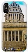 Cuba - La Habana IPhone Case