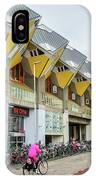 Cube Houses In Rotterdam IPhone Case