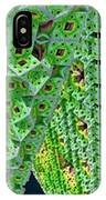 Cubes In Green IPhone Case
