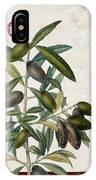 Cucina Italiana Olives IPhone Case