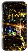 Cuenca's Historic District At Night IPhone Case