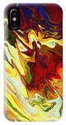 Culebras Voladores Or Flying Snakes IPhone Case