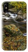 Cullasaja River In Autumn IPhone Case