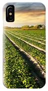 Cultivated Land IPhone Case