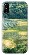 Cultivated Vineyards Tuscany  Italy IPhone Case