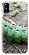 Curious Caterpillar IPhone Case