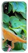 Curious Lizard IPhone Case