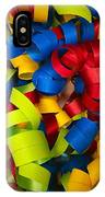 Curly Ribbons  IPhone Case