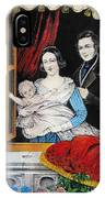 Currier: Marriage, 1848 IPhone Case