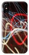 Cursive Nova IPhone Case