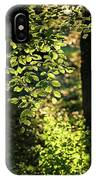 Curtain Of Leaves IPhone Case