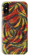 Curved Lines 2 IPhone Case