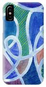 Curved Paths IPhone Case