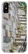 Curved Stone Staircase 235 IPhone Case