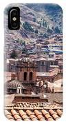 Cusco Cityscape IPhone Case