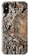 Cut Branch On Tree Trunk IPhone Case
